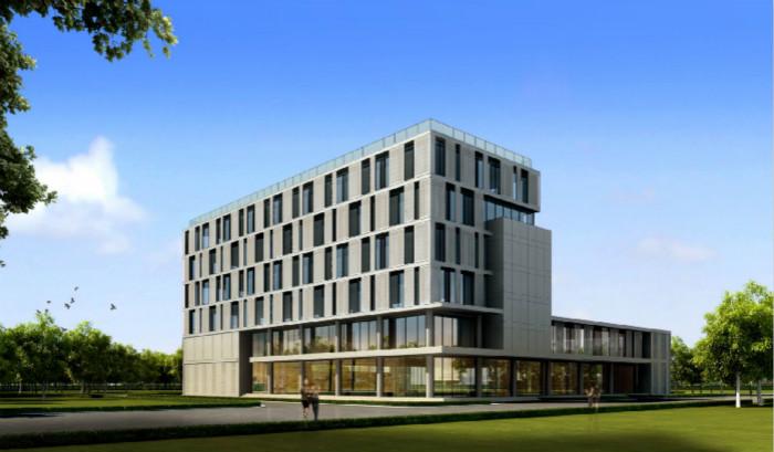 河北省建筑科技研发基地——会展中心